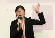陶氏化学(中国)有限公司贺晓蓉博士做相关演讲