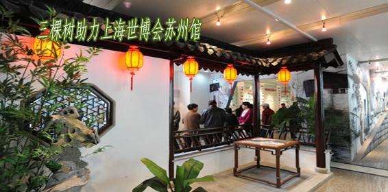 健康三棵树助力上海世博会