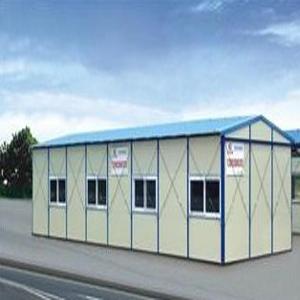高价回收旧彩钢板夹芯板活动房,组合板房