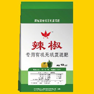 腐植酸有机无机复混肥-辣椒