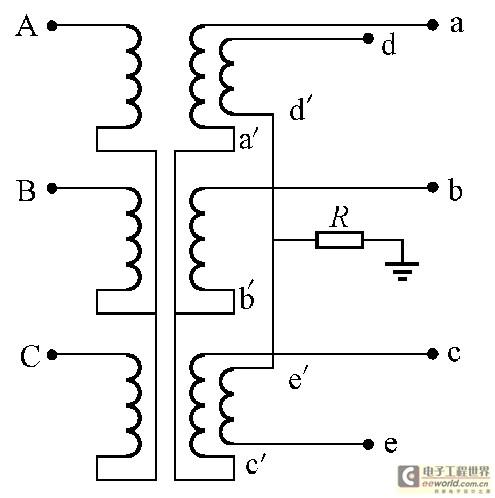 三相变压器接线方式