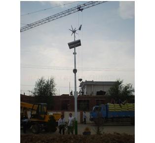 风力发电机原理高清图片