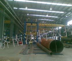 钢管合缝焊接生产线