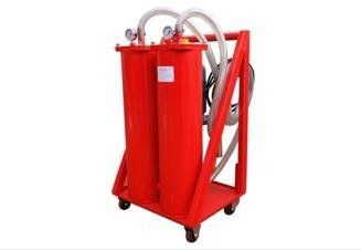 高精度液压油移动过滤装置