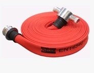 单层带坯消防水带