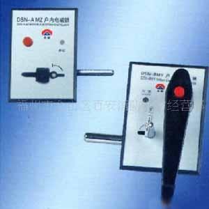 电磁锁控制盒里的接线图