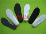 多种鞋垫材料