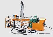 液压架柱式回转钻机
