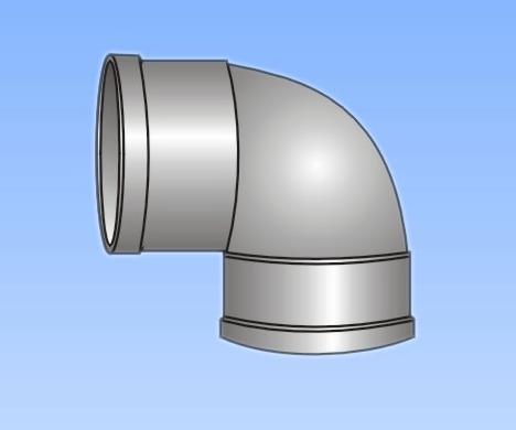 产品名称 供应 PVC U排水管件系列 直通 客箍 -供应 PVC U排水管件系