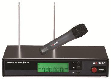 真分集无线麦克风(GL-100)