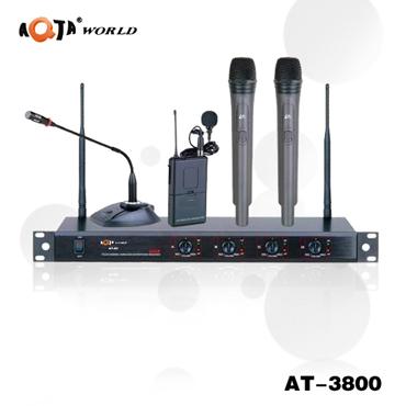 一拖四无线麦克风(AT-3900)
