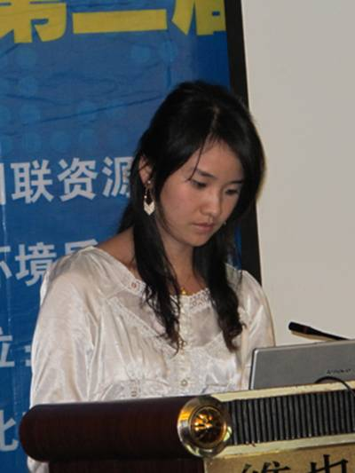 """环境监测――深圳市安鑫宝科技发展有限公司王颖博士做""""恶臭实时在线监测技术的发展前景及其应用""""的报告"""