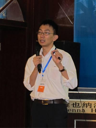 """环境监测――AB SCIEX公司秦峰博士做""""环境分析中的液质联用技术及其应用""""的报告"""