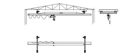 LX电动单梁悬挂