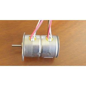 高速打印机用20PM步进电机(步进角度15度) (专利产品 双电机)(图)