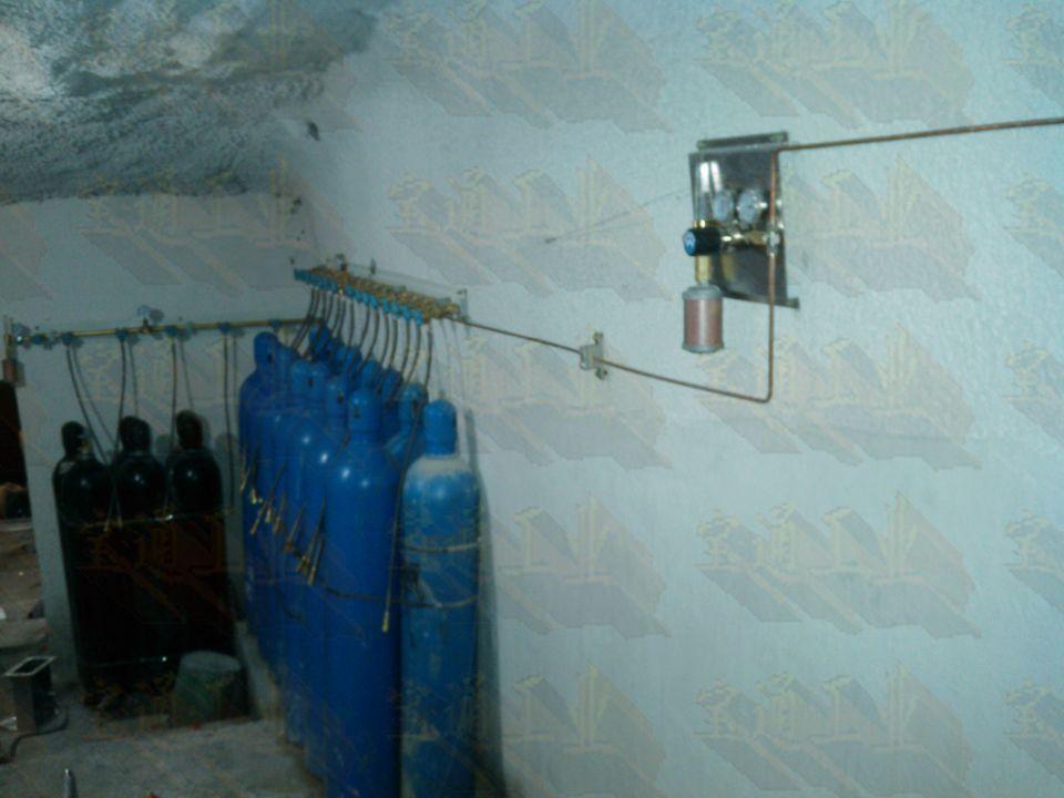 供应避难硐室气路系统