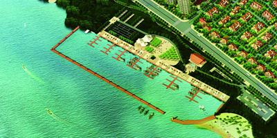 金凯盛游艇俱乐部游艇码头奠基仪式启动图片