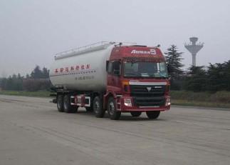 欧曼8×4粉粒物料运输车