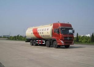 天龙8×4粉粒物料运输车