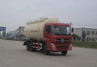 天龙6×4国IV 粉粒物料车