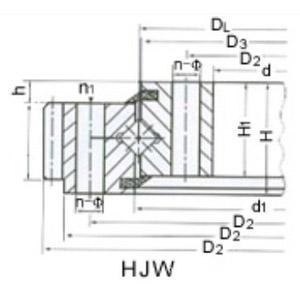 供��三排�L柱式回�D支承