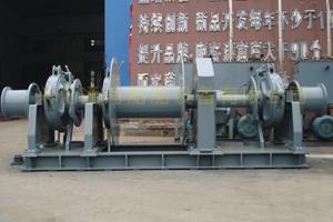 供应液压双链单卷筒起锚系泊组合锚机