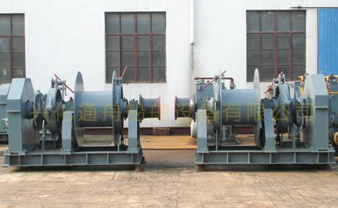 供应液压单链单卷筒组合锚机