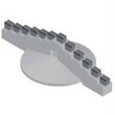 工程机械配件 盾构刀 盾构法 中心鱼尾刀