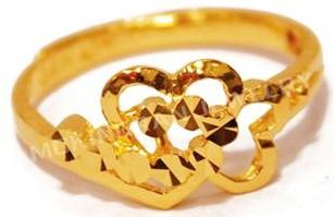 梦金园珠宝-女式戒指