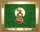 铝合金-绿色-单人-地藏佛
