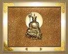 铝合金-金色-单人-地藏佛