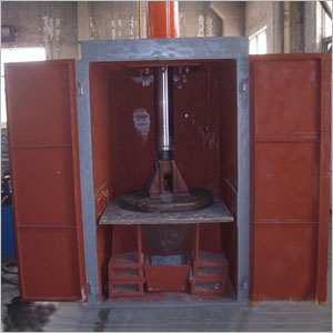 热铝炉渣冷却压机