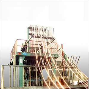 无氧铜杆上引法连铸机组