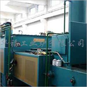 RCWC9系列托辊传动型无马弗网带电阻炉自动生产线