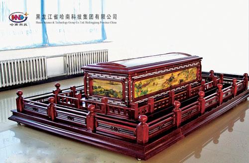 豪华实木冷藏棺(八型)