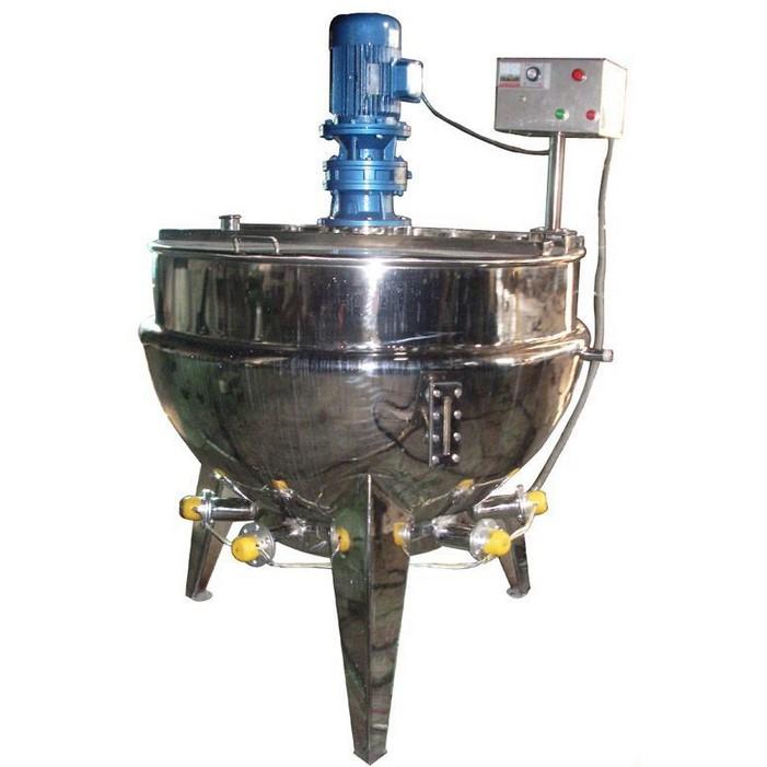电加热立式带搅拌夹层锅