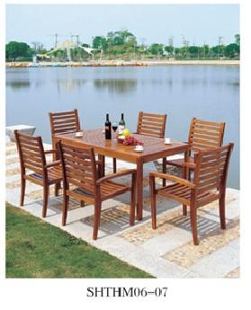 碳化木桌椅系列