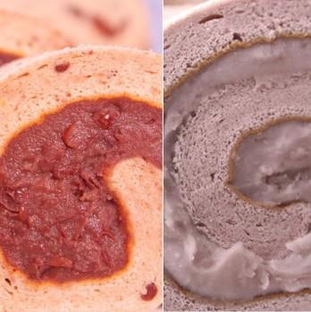 食尚玩家雜誌強力推薦 《香帥蛋糕》 芋香卷蛋糕X1條+精緻紅豆卷X1條(含運)