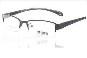 钛合金眼镜架 配近视眼镜