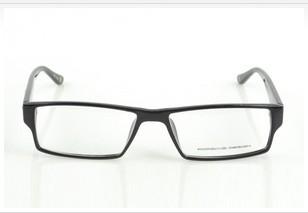 男女款保时捷P8601近视平光防辐射全框板材眼镜架