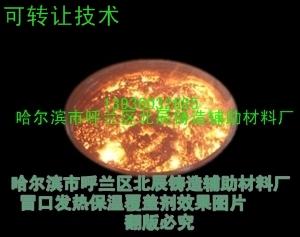 提供铸钢铸铁冒口保温发热剂技术与工艺