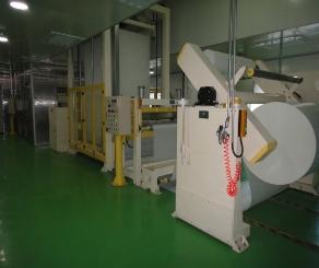 工业滤纸浸渍涂布固化生产线