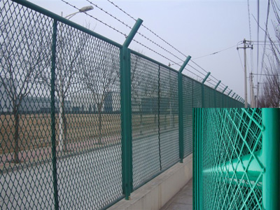 护栏用钢板网 钢板网
