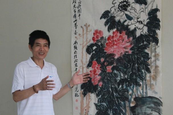 梅南频画家的书画艺术