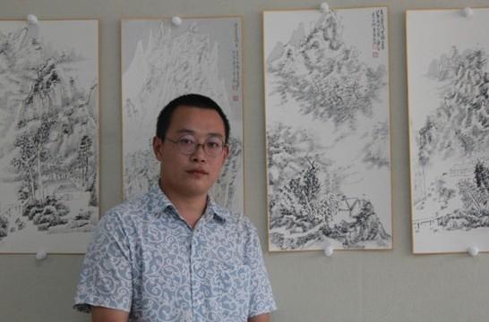 董晋先生的水墨中国
