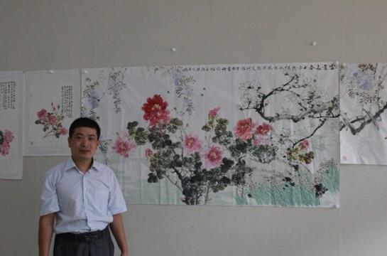 于兴杰先生的中国花鸟画