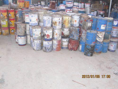 回收库存处理油漆,树脂,化工原料