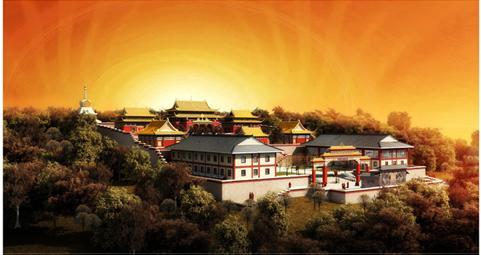 河北尚义县崇德寺院建筑设计
