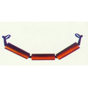 吊挂式槽型托辊组
