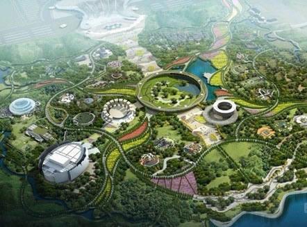 锦州世博园景区地图_锦州世博园景区